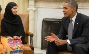 Premiul Nobel pentru Pace: Obama despre Malala Yousafzai (foto:thenewstrack.com)