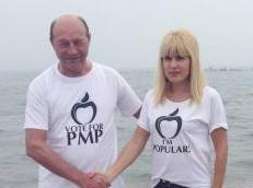 Traian Băsescu se înscrie în PMP.