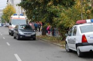 Un politist, lovit de un sofer baut.