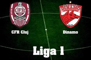 Liga I, etapa 11: CFR Cluj - Dinamo (video live)