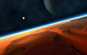 Cometa Siding Spring se apropie cu viteză de Marte.