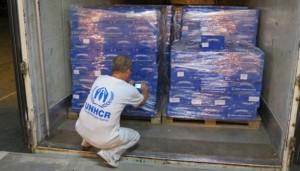 Un convoi umanitar german se indreapta spre Ucraina