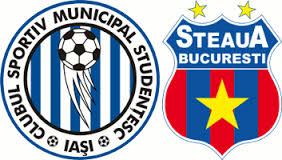Cupa României, optimi: CSMS Iași vs Steaua