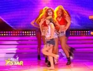 Nex Star, 16 octombrie: Dansul Elei Țau a lǎsat juriul fǎrǎ cuvinte (foto:captura video)