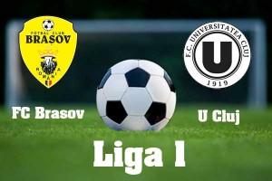 Cupa României, optimi: FC Brașov - U Cluj (video live)