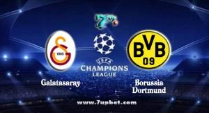 Champions League. Galatasaray - Borussia Dortmund