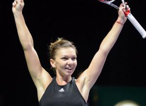 Turneul Campioanelor: Simona Halep - Ana Ivanovici (video live)