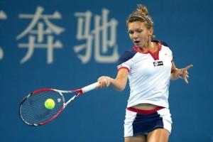 WTA China Open: Simona Halep s-a calificat ȋn sferturi (foto:ligasportivilor.ro)