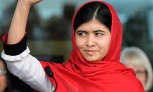 Malala Yousafzai a fost recompensatǎ cu distincția Liberty Medal (foto:theguardian.com)