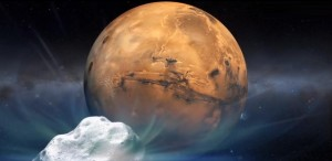 Se va ciocni cometă C/2013 A1 (Siding Spring) cu planeta Marte