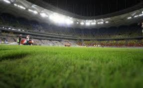 Sorin Oprescu a vizitat stadionul Național Arena pentru a verifica instalațiile de aerare și irigare a gazonului înaintea meciului dintre România și Ungaria. (foto:focus-giurgiu.ro)