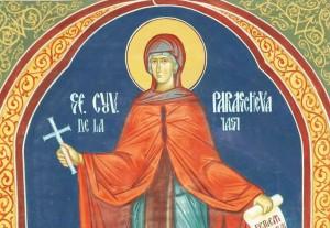 Sfȃnta Cuvioasǎ Parascheva, 14 octombrie (foto:doxologia.ro)