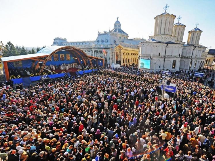 Sfântul Cuvios Dimitrie cel Nou. Programul manifestărilor de la Patriarhie