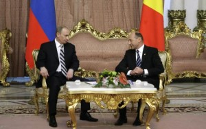 Băsescu s-a întâlnit cu Vladimir Putin.