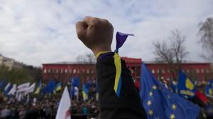 Ucraina: Victorie zdrobitoare a partidelor proeuropene