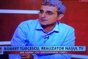 Robert Turcescu a bătut palma cu Nașul TV