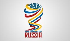 Emblema Campionatului Mondial de Fotbal din 2018.