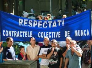 Miting sindical, în Capitală.