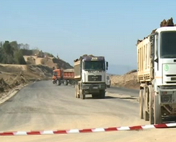 Un nou tronson din Autostrada Sibiu-Orăștie, gata de alegeri.
