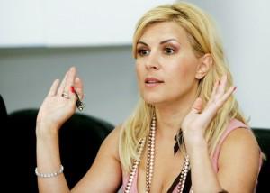 Elena Udrea a mers la sediul DNA.