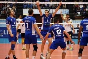 Liga campionilor, volei masculin: Copra Ardelia Piacenza – CVM Tomis Constanța, scor 2-3 (foto:suporterul-constantean.ro)