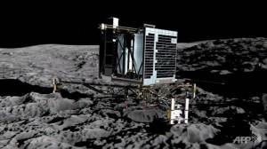 Asolizare pe cometa 67P/Ciuriumov-Gherasimenko