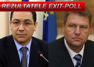 Exit-poll CSCI. Rezultate Alegeri Prezidenţiale 2014