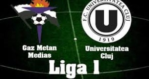 Liga I, etapa 13. Gaz Metan - U Cluj