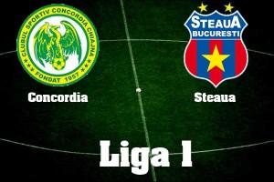 Liga I, etapa a 14-a. Concordia Chiajna - Steaua