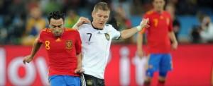 Fotbal, meci amical: Spania - Germania