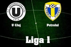 Liga 1, etapa a 14-a: U Cluj – Petrolul