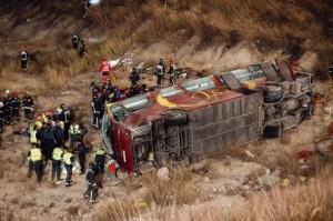 accident rutier spania