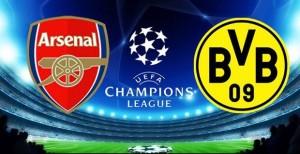 UEFA Champions League, grupa D: Arsenal - Borussia Dortmund (live video)