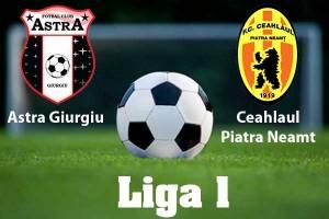 Liga I, etapa 13. Astra - Ceahlaul