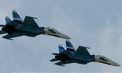 Armata rusă a trimis 14 avioane de vânătoare în Crimeea.