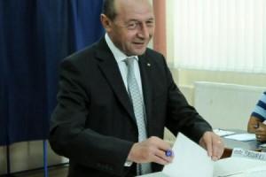 Ultimul vot al lui Băsescu în calitate de preşedinte
