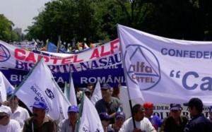 Sindicaliștii Confederației Cartel Alfa reiau protestele.