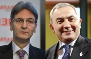 Leonard Orban şi Lazăr Comănescu, consilieri prezidenţiali.