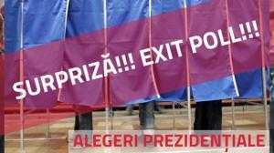 Exit-Poll, alegeri prezidentiale 2014, ora 14,00