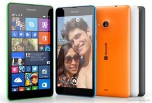 Lumia 535, primul telefon Microsoft, fără numele Nokia.