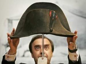 Cât costă pălăria lui Napoleon Bonaparte.