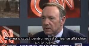 Ponta a plagiat o scenă din House of Cards (video)