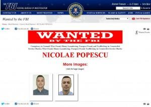 Departamentul de Stat al Statelor Unite oferă recompense de aproape 2 milioane de dolari celor care pot ajuta la prinderea a doi români suspectaţi de fraude pe internet.