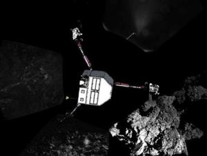 Robotul Philae mai are energie doar pentru o zi. (foto: Mediafax)