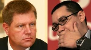 Sondaje  între Ponta şi Iohannis