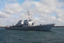 """NATO: Distrugătorul USS """"Ross"""" în Marea Neagră pentru exerciții  (foto:defenceturk.com)"""