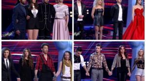 Surprize la Vocea Romaniei! Ei merg mai departe dupa al doilea show LIVE