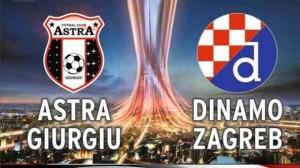 UEFA Europa League, grupa D: Astra Giurgiu vs Dinamo Zagreb