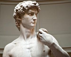 "Sculptura ""David"" de Michelangelo"