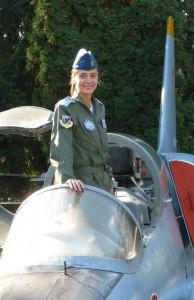 Diana Diaconu, pilot C-27J Spartan